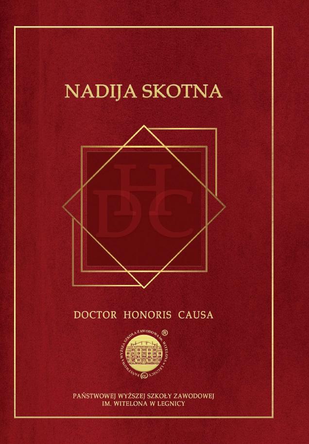 Nadija Skotna - Doctor Honoris Causa