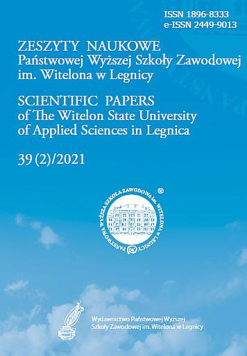 Zeszyty Naukowe nr 39(2)/2021
